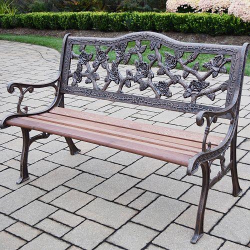 English Rose Outdoor Bench