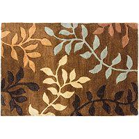Safavieh Soho Brown Leaf Rug