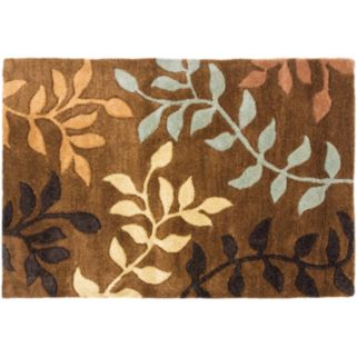 Safavieh Soho Brown Leaf Rug