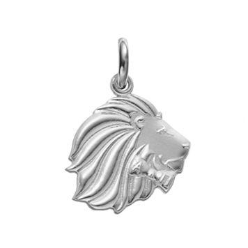 LogoArt Sterling Silver Alpha Delta Pi Sorority Lion Charm