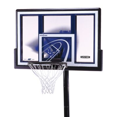 Lifetime 48-in. Shatterproof In-Ground Basketball System