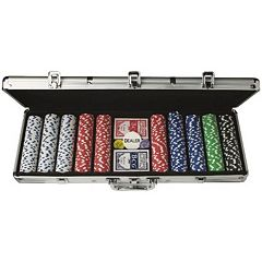 Triumph 500-Piece Poker Chips Set & Case