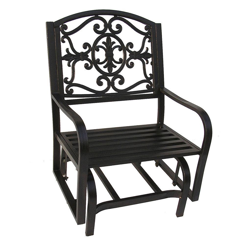 Admirable Patio Glider Chairs Metal Caldwellcountytxoem Com Spiritservingveterans Wood Chair Design Ideas Spiritservingveteransorg