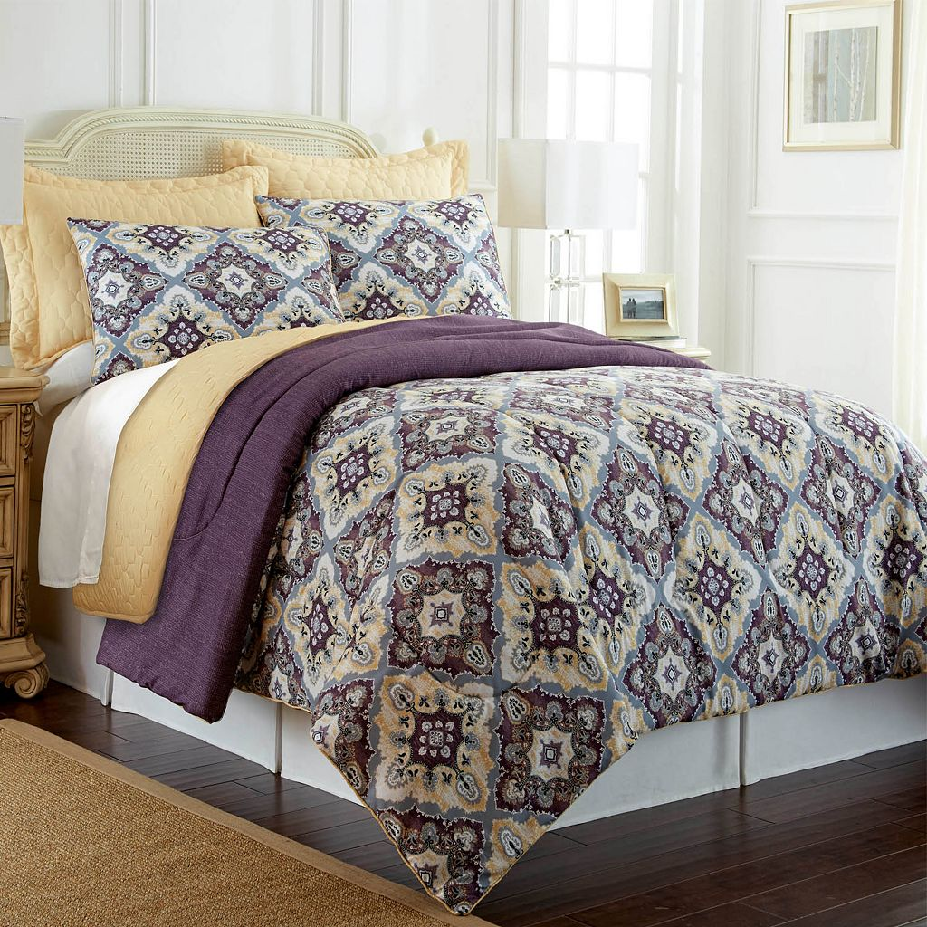 PCT Home collection Zoie 6-pc. Reversible Comforter & Coverlet Set