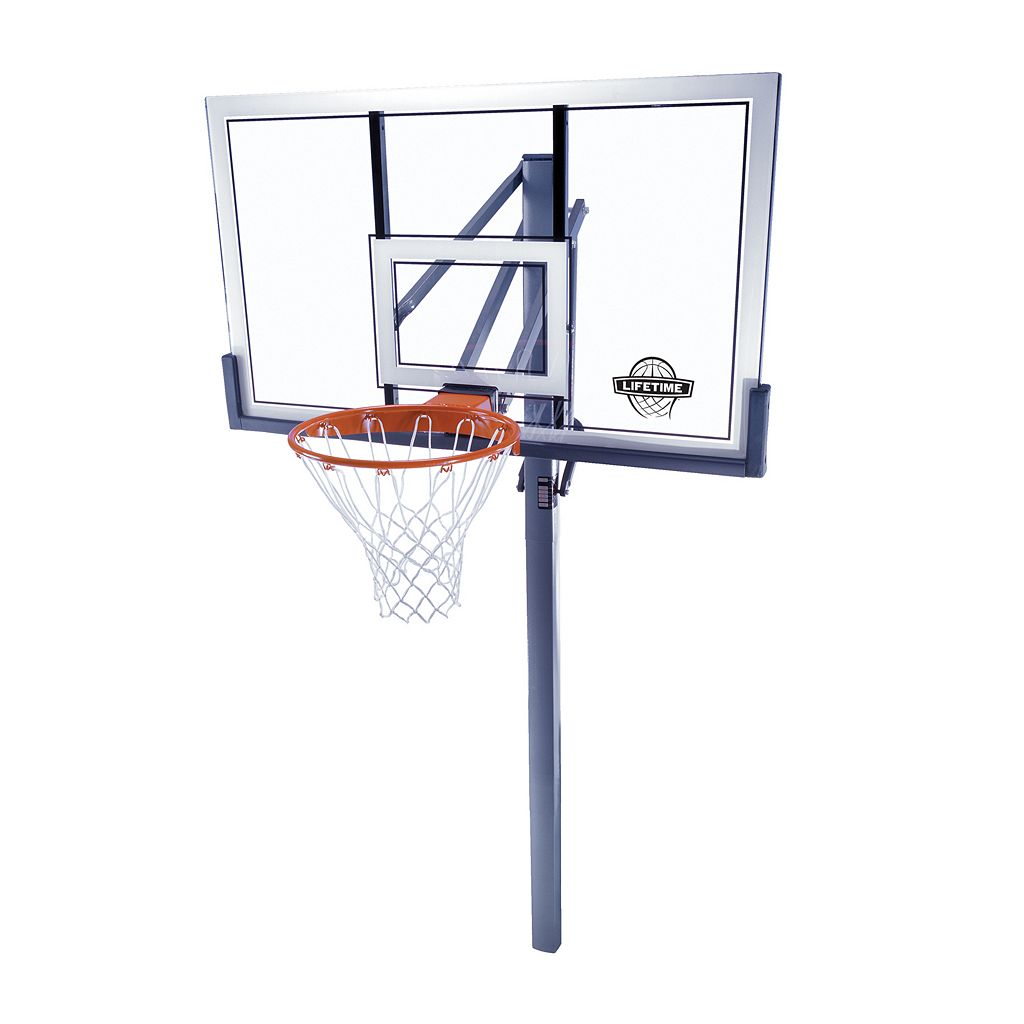 Lifetime 54-in. Competition In-Ground Basketball System