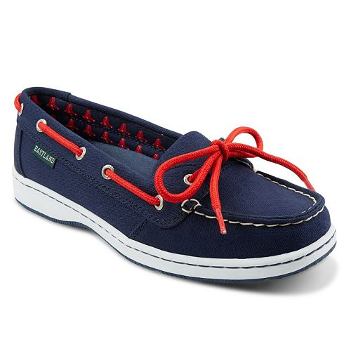 Women's Eastland Boston Red Sox Sunset Boat Shoes