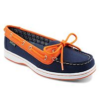 Women's Eastland Detroit Tigers Sunset Boat Shoes