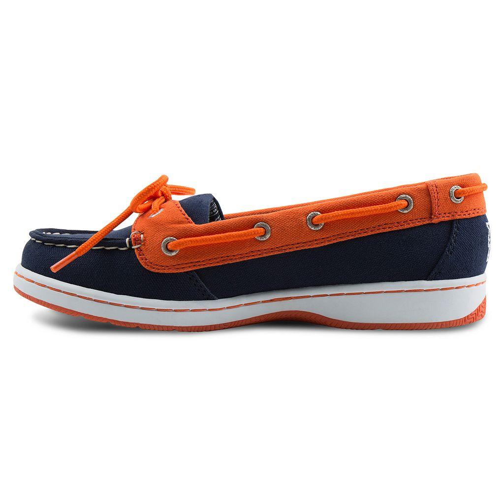 Women's Eastland Detroit Tigers Sunset Boat Shoes