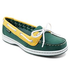 Women's Eastland Oakland Athletics Sunset Boat Shoes