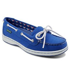 Women's Eastland Toronto Blue Jays Sunset Boat Shoes
