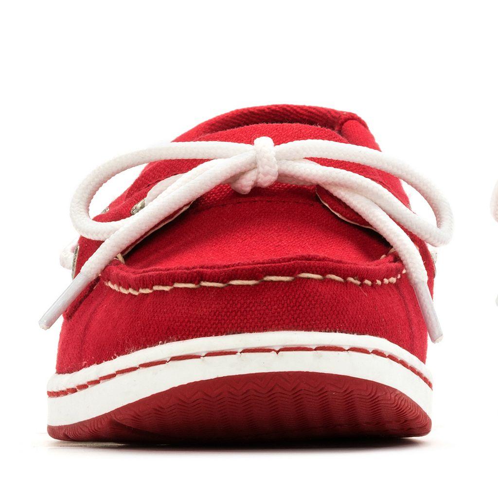 Women's Eastland Washington Nationals Sunset Boat Shoes