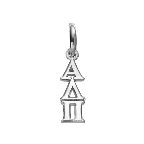 LogoArt Alpha Delta Pi Sterling Silver Sorority Charm