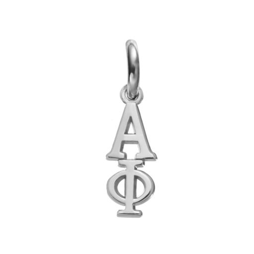 LogoArt Alpha Phi Sterling Silver Sorority Charm
