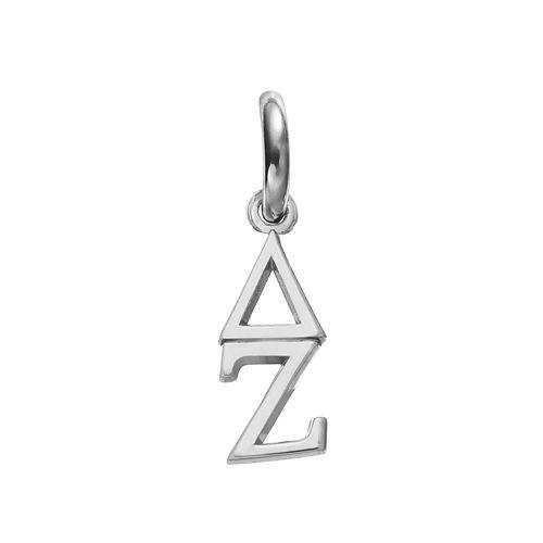LogoArt Delta Zeta Sterling Silver Sorority Charm