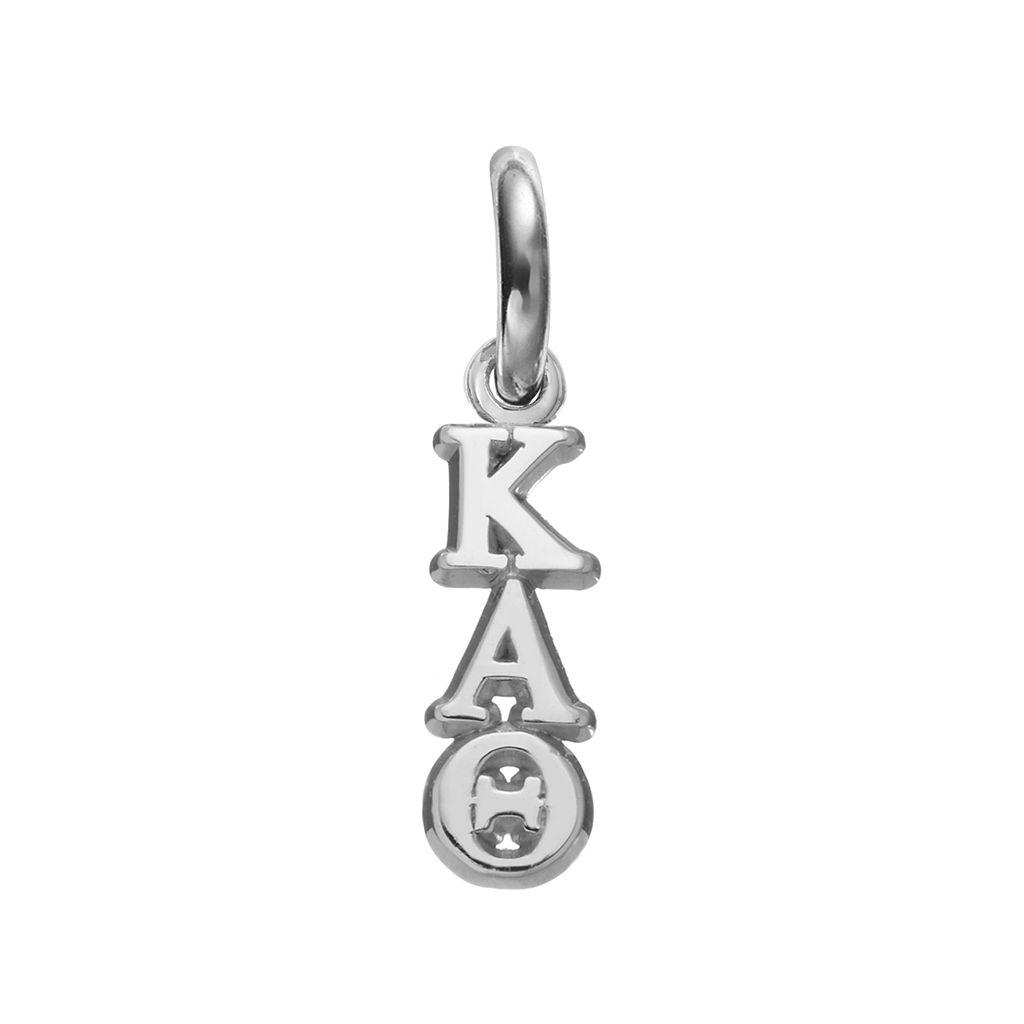 LogoArt Kappa Alpha Theta Sterling Silver Sorority Charm