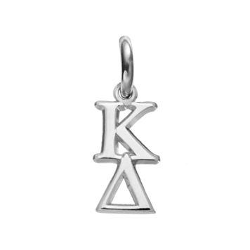 LogoArt Kappa Delta Sterling Silver Sorority Charm