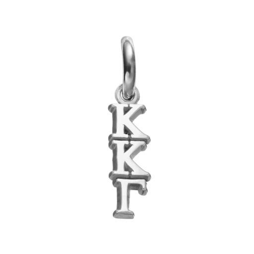 LogoArt Kappa Kappa Gamma Sterling Silver Sorority Charm