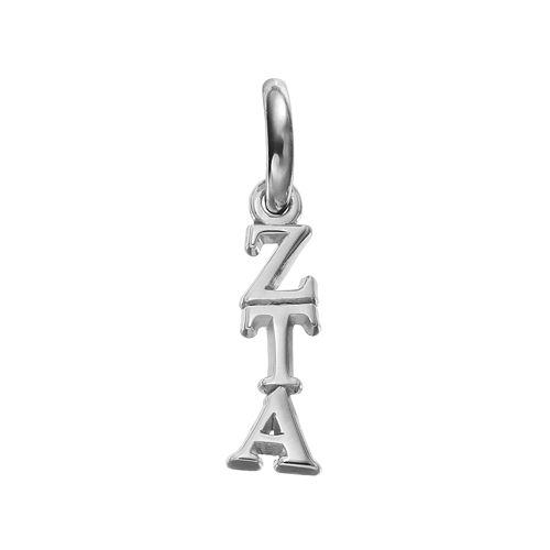 LogoArt Zeta Tau Alpha Sterling Silver Sorority Charm