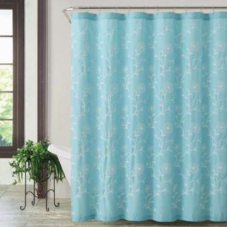 VCNY Rebecca Fabric Shower Curtain