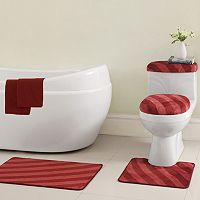 VCNY Addie 12-pc. Bath Rug & Bathtub Applique Set