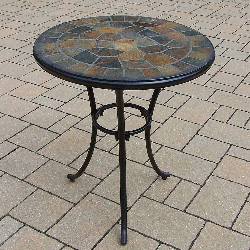 Stone Art Bistro Patio Table