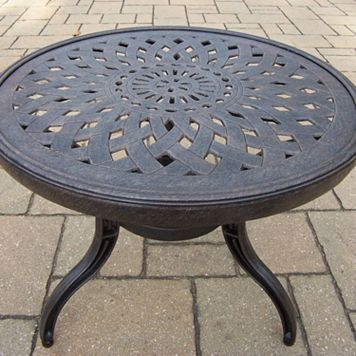 Belmont Round Patio End Table