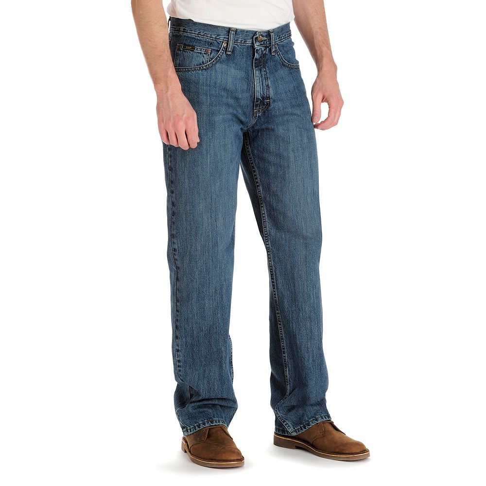 fbe109779a0 Big   Tall Lee Premium Select Relaxed-Fit Comfort-Waist Stretch Jeans