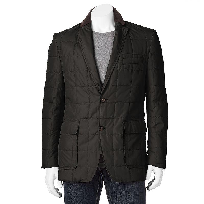 Men's Chaps Classic-Fit Puffer Blazer Jacket