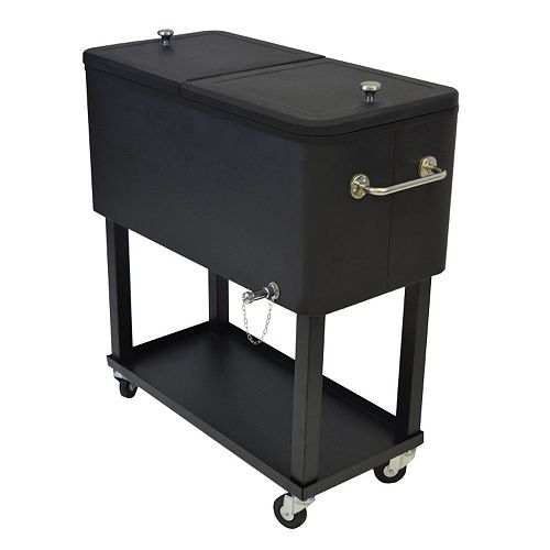 Party Outdoor Cooler Cart