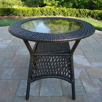 Elite Wicker Patio End Table