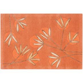 Safavieh Soho Branch Rust Orange Wool Rug