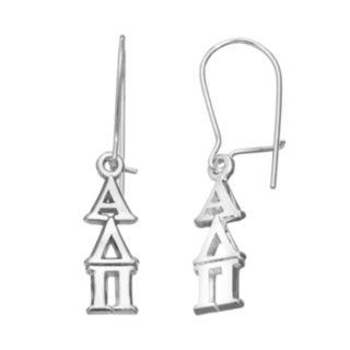 LogoArt Alpha Delta Pi Sorority Drop Earrings