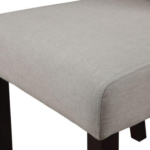 Simpli Home Cosmopolitan 2-piece Deluxe Tufted Parson Chair