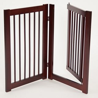 Primetime Petz 24 Inch 360 Degree Configurable Door Pet Gate