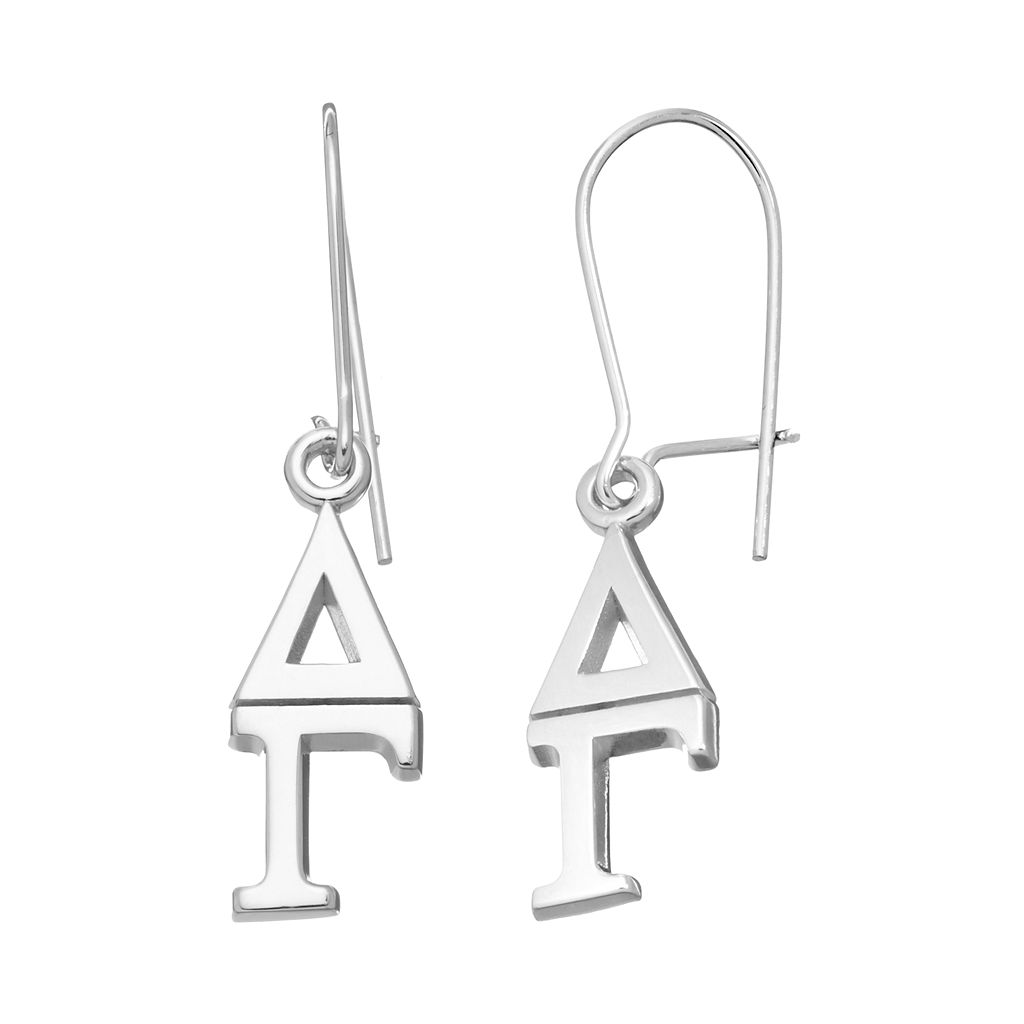 LogoArt Delta Gamma Sorority Drop Earrings