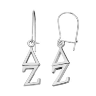 LogoArt Delta Zeta Sorority Drop Earrings