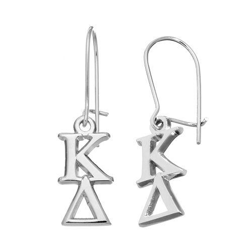 LogoArt Kappa Delta Sorority Drop Earrings