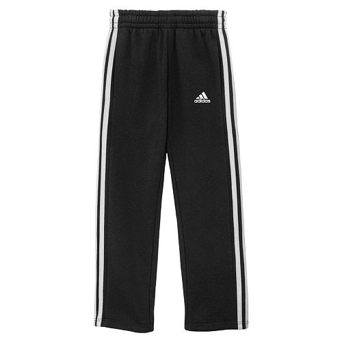 adidas fleece slim pants