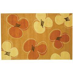 Safavieh Soho Gold Floral Wool Rug