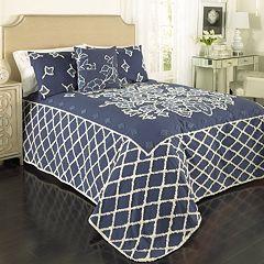 Grotto Chenille Bedspread