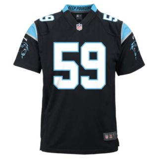 Boys 8-20 Nike Carolina Panthers Luke Kuechly Game NFL Replica Jersey