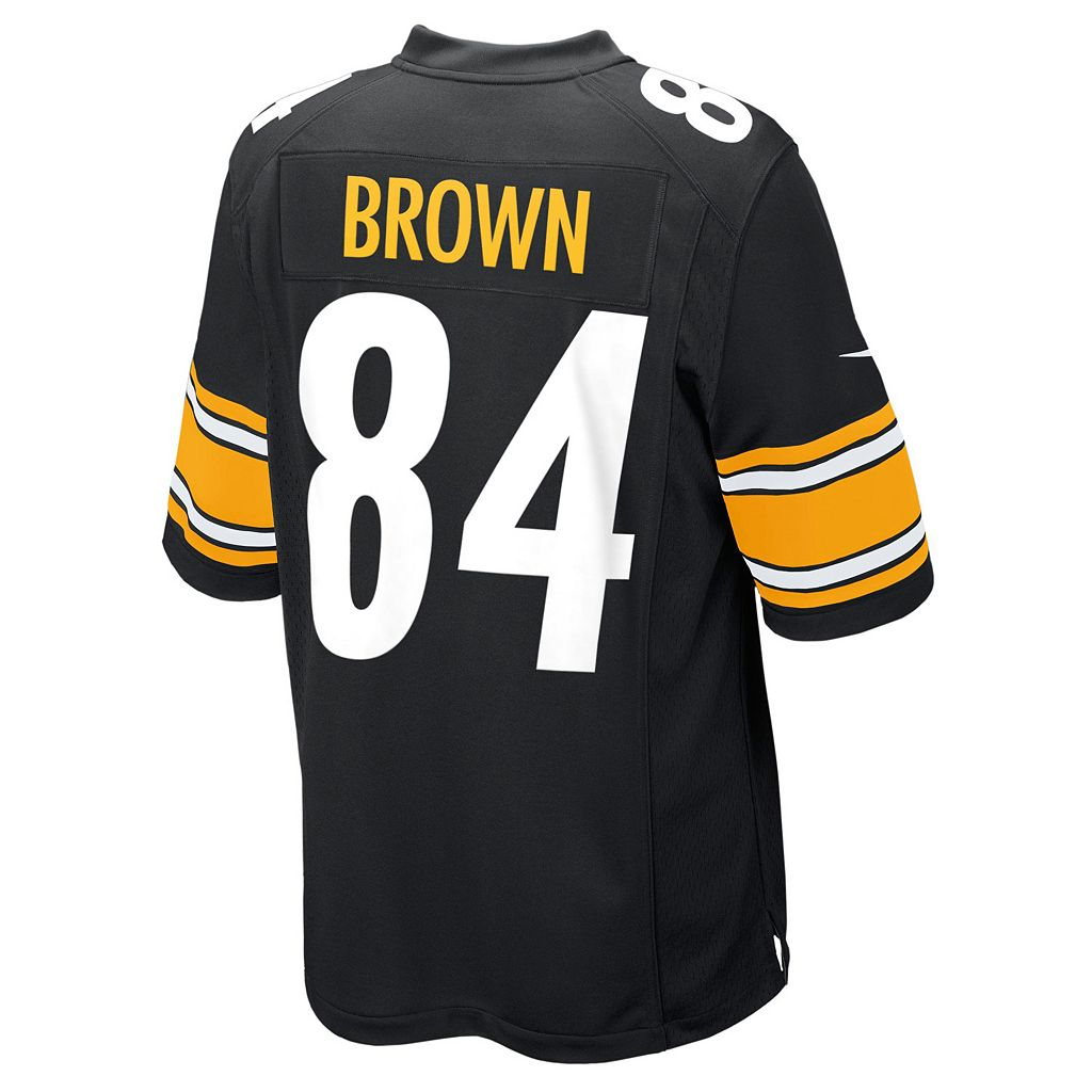 Boys 8-20 Nike Pittsburgh Steelers Antonio Brown Game NFL Replica Jersey