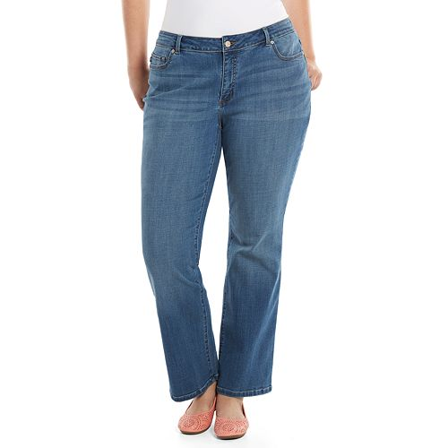e5bde9e4 Lee Curvy Fit Bootcut Jeans - Women's