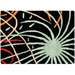 Safavieh Soho Black Starburst Rug