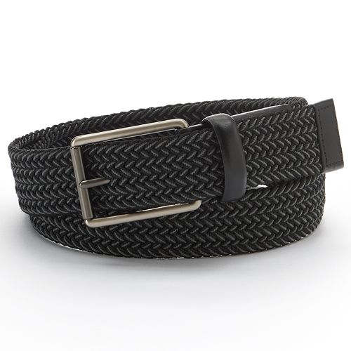 Apt. 9 Braided Elastic Belt - Men