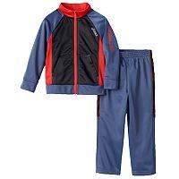 ASICS Colorblock Track Jacket & Pants Set - Toddler Boy
