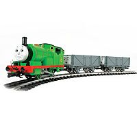 Thomas & Friends Percy & the Troublesome Trucks G Scale Electric Train Set by Bachmann