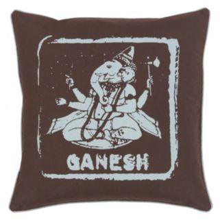 Decor 140 Ganesh Throw Pillow