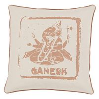 Decor 140 Ganesh Throw Pillow