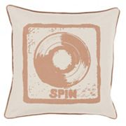 Decor 140 Turntable Throw Pillow